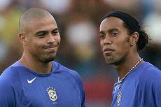 Ronaldo Beri Ucapan Selamat Ulang Tahun untuk Ronaldinho