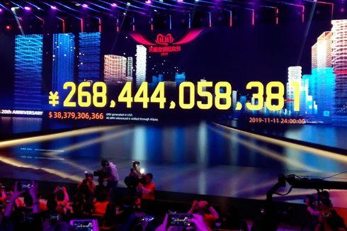 Luar Biasa, Alibaba Raup Penjualan Rp 538,5 Triliun Hanya Sehari!