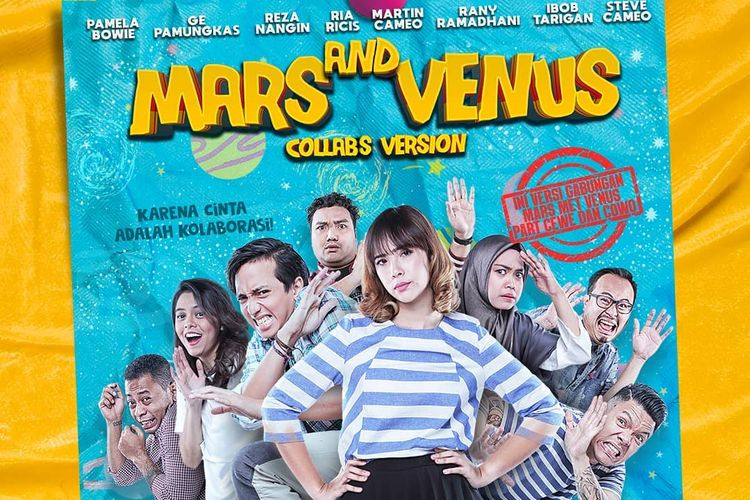 Poster Film Mars and Venus Collabs Version