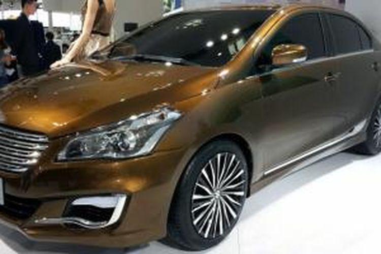 Suzuki Alivio Concept diperkenalkan di Beijing Motor Show 2014