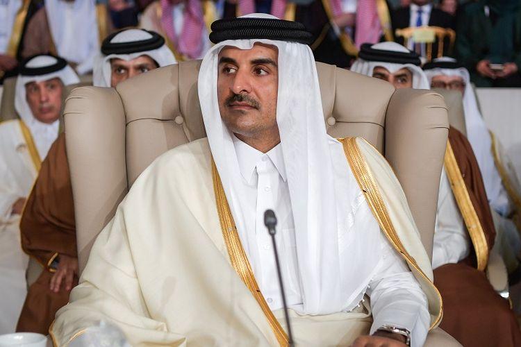 Emir Qatar, Sheikh Tamim bin Hamad Al Thani.