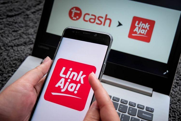 Ilustrasi T-Cash ke LinkAja