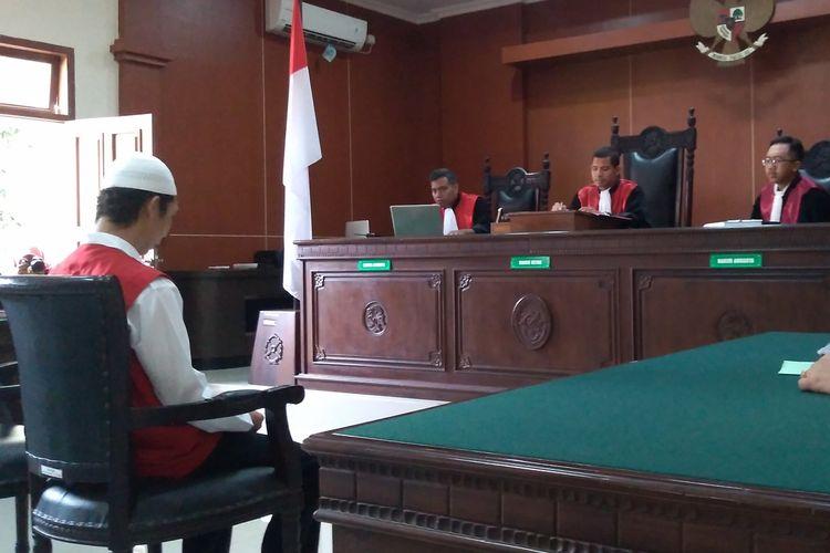 Sidang kasus mutilasi di Pengadilan Negeri (PN) Banyumas, Jawa Tengah, Selasa (10/12/2019).