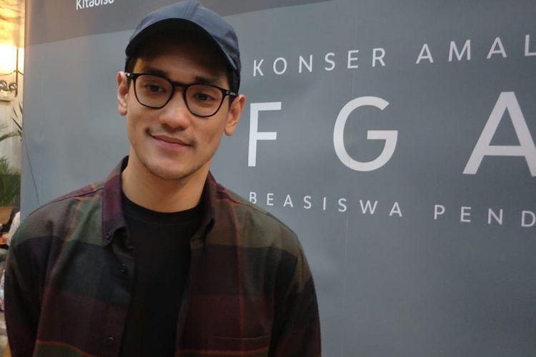 Penyanyi Afgan ditemui sebelum beraksi di Konser Amal Afgan di M Bbloc Space, Jakarta Selatan, Jumat (24/1/2020).