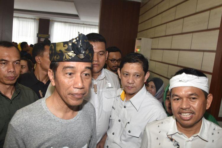 Dedi Mulyadi bersama Calon Presiden RI Joko Widodo.
