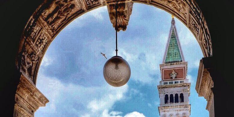 Menara San Marco di Venesia, Italia.