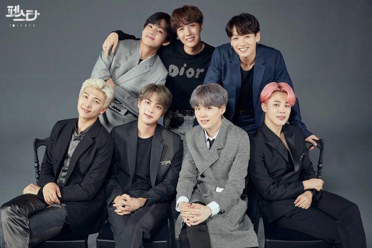 BTS, grup bentukan Big Hit Entertainment.