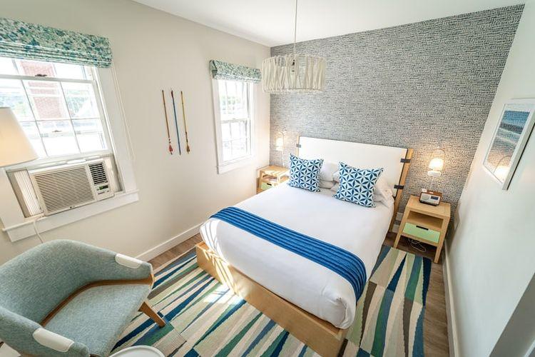 Ilustrasi kamar tidur kecil