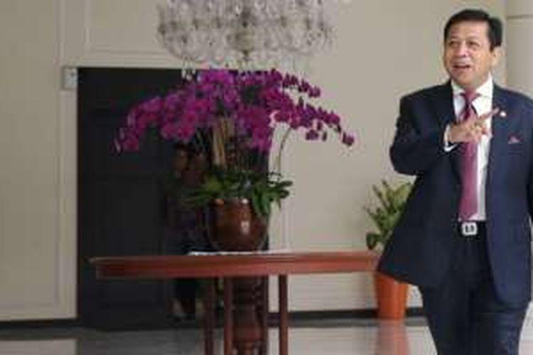Ketua Umum Partai Golkar Setya Novanto