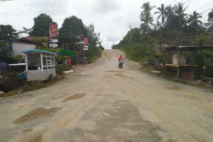 Desa Semoi Dua Kecamatan Sepaku Kabupaten PPU, lokasi ibu kota negara, Sabtu (26/10/2020).