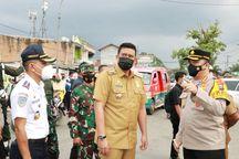 Batasi Akses Keluar Masuk Medan, Walkot Bobby Tinjau Lokasi Penyekatan