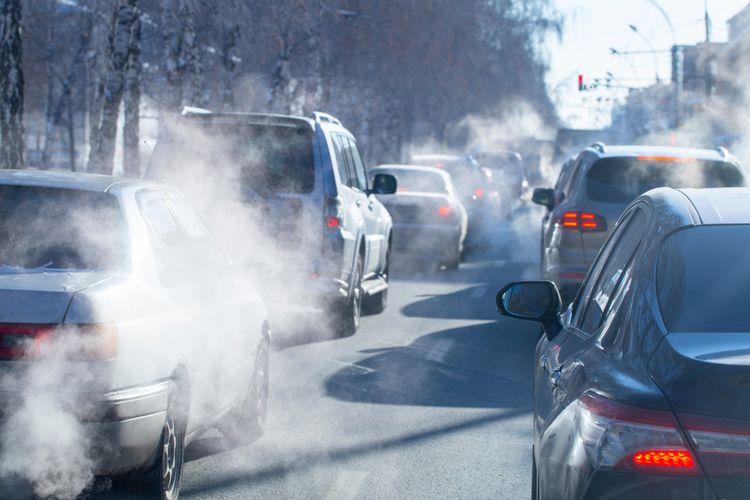 Gas beracun dalam udara tercemar
