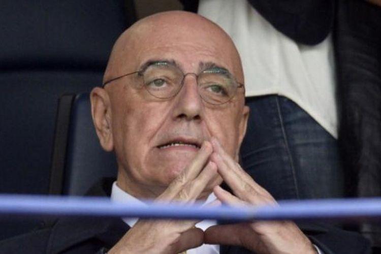 Wakil Presiden AC Milan, Adriano Galliani.
