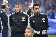 PSG Vs Monaco, Neymar Puji Formasi Empat Penyerang Tuchel