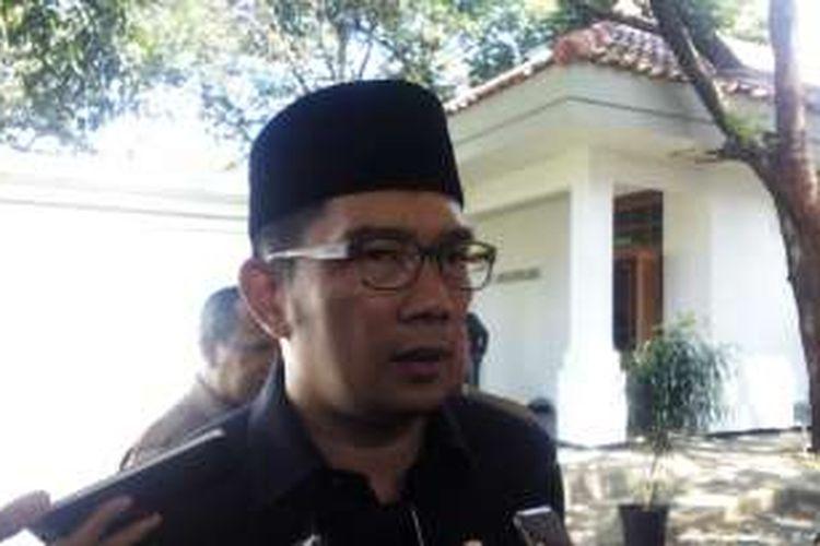 Wali Kota Bandung Ridwan Kamil saat ditemui wartawan di Pendopo Kota Bandung, Senin (1/8/2016)