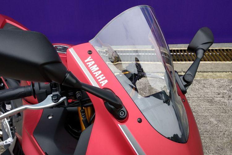 Yamaha perlihatkan unit R25 dengan beragam pilihan aksesori yang dapat dipilih konsumennya