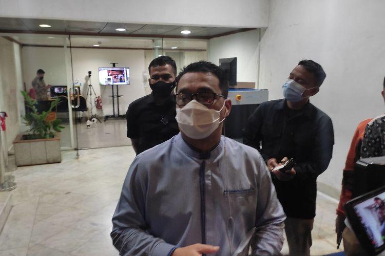 Wakil Gubernur DKI Jakarta Ahmad Riza Patria saat ditemui di Balai Kota DKI Jakarta, Jumat (21/5/2021)