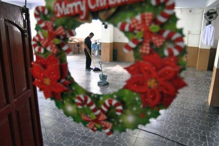 Umat Katolik di Dharmasraya tidak akan merayakan Natal secara bersama-sama karena sebuah aturan.