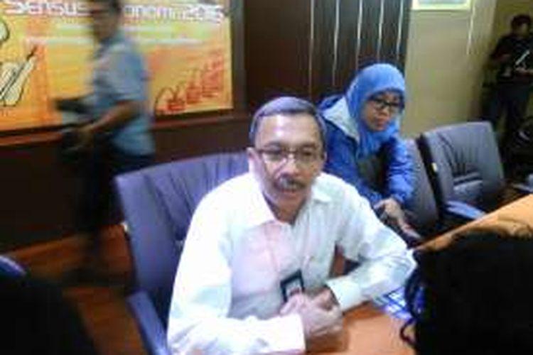 Deputi Statistik Bidang Distribusi dan Jasa BPS Sasmito Hadi Wibowo, Jakarta, Kamis (1/9/2016).