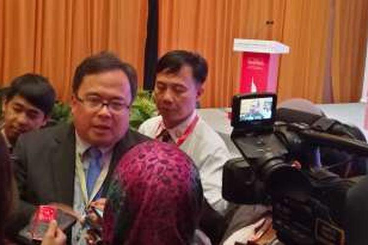 Menteri PPN Bambang Brodjonegoro di acara World Islamic Economic Forum (WIEF) 2016 di Jakarta