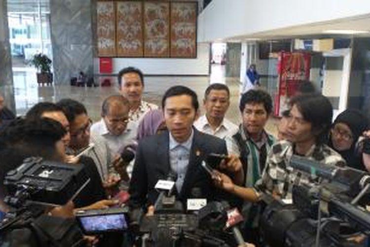 Sekjen DPP Partai Demokrat Edhie Baskoro Yudhoyono