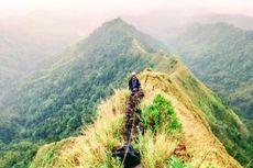 Gunung Piramid Punya Tingkat Bahaya Tinggi untuk Pendakian