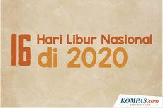 INFOGRAFIK: 16 Hari Libur Nasional di 2020