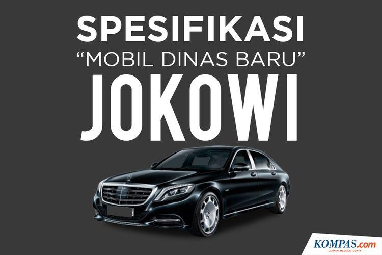 Spesifikasi Mobil Dinas Baru Jokowi