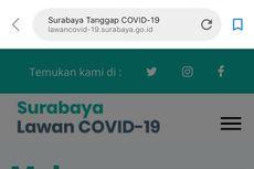 Warga Surabaya Bisa Konsultasi dan Lihat Peta Sebaran Virus Corona Lewat Website Ini