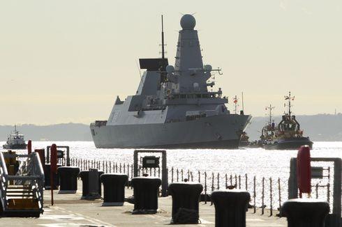 Rusak Terus, Kapal Perang Inggris Seharga Rp 17,5 Triliun