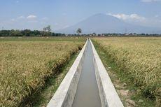 Rehabilitasi Jaringan Irigasi, Kementan Tingkatkan Provitas Pertanian di Kutawaringin