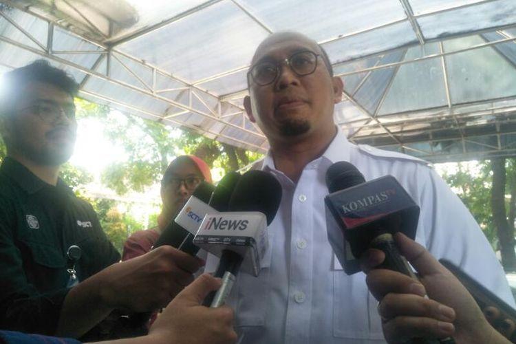 Andre Rosiade Penuhi Panggilan Mahkamah Kehormatan Partai di Kantor DPP Partai Gerindra, Ragunan, Jakarta Selatan, Selasa (11/2/2020)