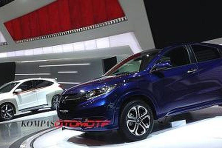 Penampilan perdana Honda HR-V di Indonesia