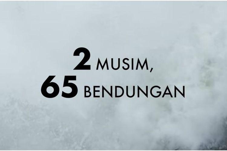 Iklan Pemerintah di bioskop yang tunjukkan hasil pembangunan pemerintahan Jokowi berhasil bangun 65 bendungan dalam 2 musim.