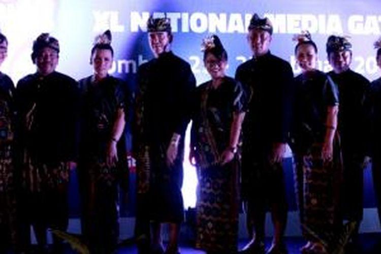 Suasana Media Gathering XL di Mataram, Nusa Tenggara Barat