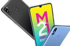 Samsung Galaxy M21 2021 Edition Meluncur dengan Baterai 6.000 mAh