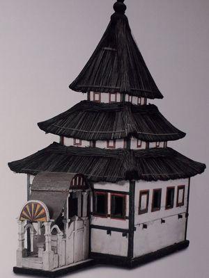 Replika Masjid, Abad 18, Jawa Timur, Kayu dan Bambu, 145x82x122cm. Foto Arsip Museum Nasional dan Buku Archipel.