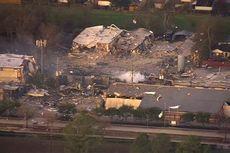 Pabrik di Houston Meledak, Dua Pekerja Dikabarkan Meninggal Dunia
