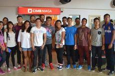Atlet-atlet Nasional Ramai-ramai Uji Coba di Malaysia Terbuka