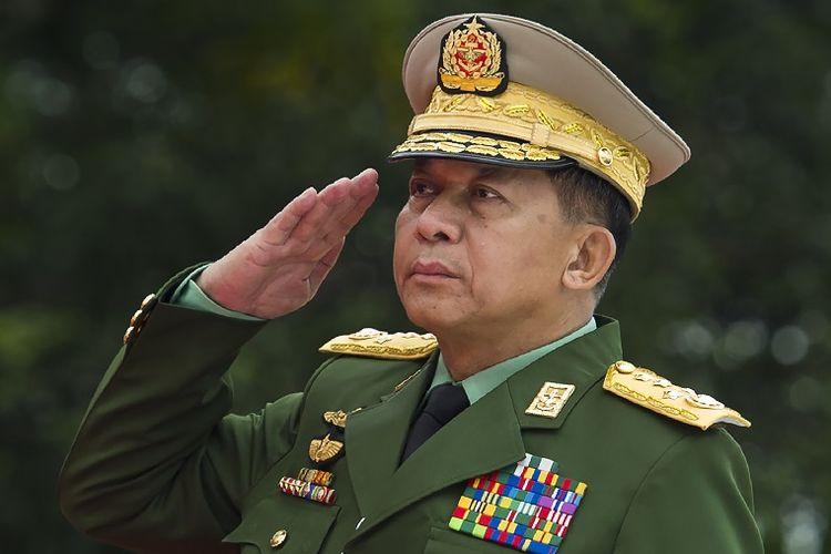 Myanmar junta chief General Min Aung Hlaing