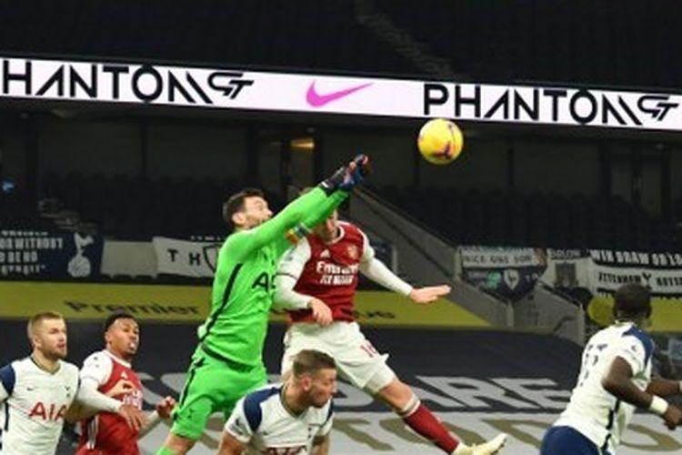 Pertandingan Tottenham vs Arsenal pada lanjutan pekan ke-11 Liga Inggris 2020-2021 di Stadion Tottenham Hotspur, Minggu (6/12/2020) malam WIB.