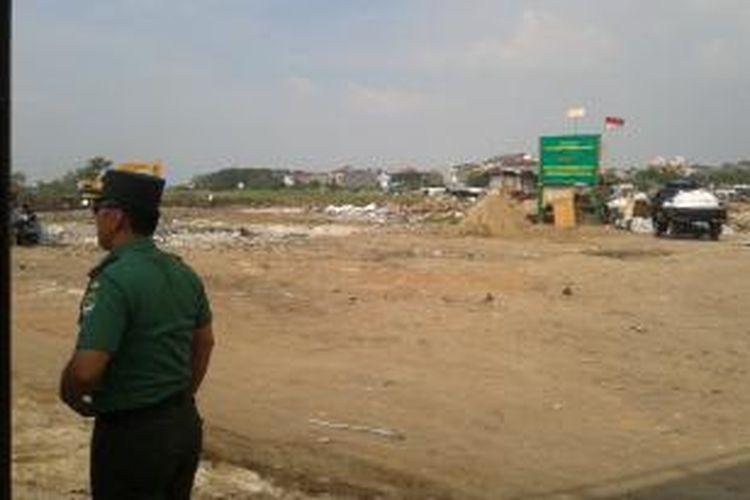 Lokasi di Taman BMW, di Tanjung Priok, Jakarta Utara. Rencananya di lokasi tersebut, Pemerintah Provinsi DKI Jakarta akan membangun stadion bertaraf internasional.