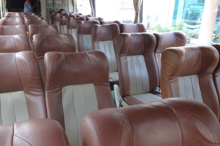 Kabin bus AKAP PO Transport Express