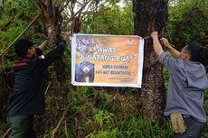 Cegah Korban Harimau Bertambah, BKSDA Pasang Spanduk Imbauan