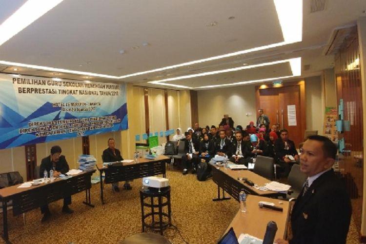 Pemilihan Guru Pendidikan Dasar Berprestasi 2017 berlangsung 14-20 Agustus 2017 di Hotel Le Meridien, Jakarta.
