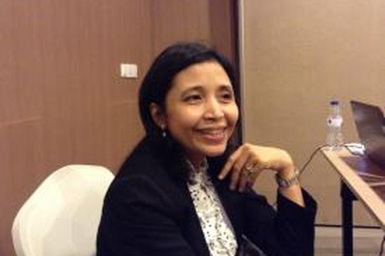 Komisioner Komisi Pemilihan Umum (KPU) Ida Budhiati