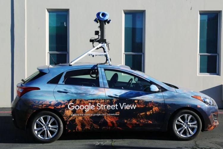 Mobil Google Street View baru