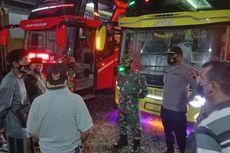 Bus Rombongan Peziarah Dikejar Tim Satgas Covid-19 Saat Berusaha Kabur, Satu Orang Reaktif