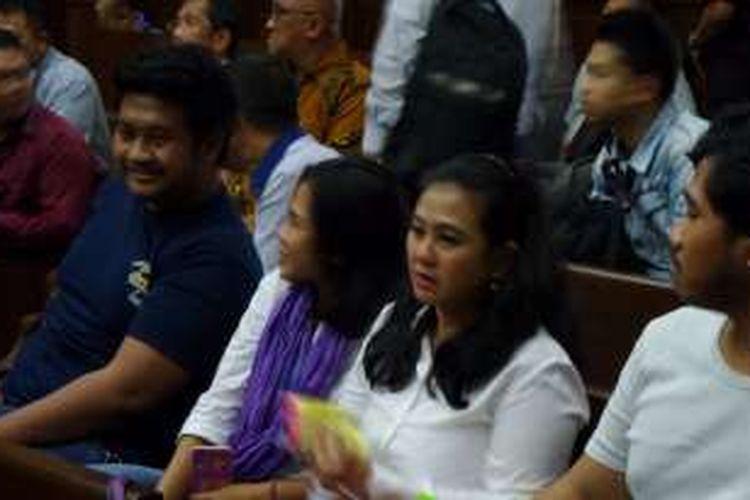 Mantan anggota Komisi V DPR Damayanti Wisnu Putranti sebelum sidang pembacaan putusan di Pengadilan Tipikor Jakarta, Senin (26/9/2016).