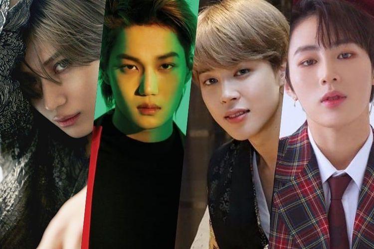 Geng Persahabatan Parka yang terdiri dari Taemin, Kai, Jimin, Ha Sung Woon.